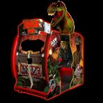 Jurassic-Park-Arcade-Environmental-Cabinet-with-T-Rex-Head